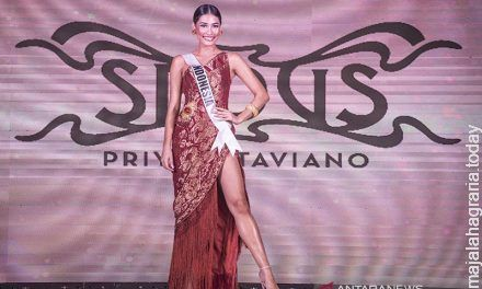 Frederika Cull sempat terpeleset di Miss Universe 2019